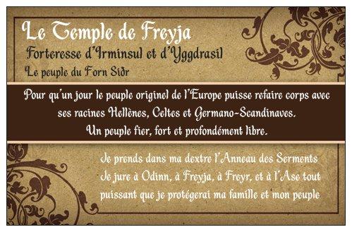 Le Temple de Freyja