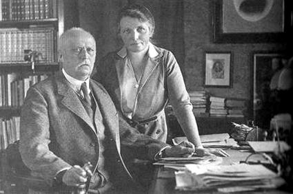 Mathilde et erich ludendorff