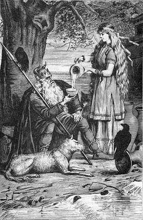 Odin et saga