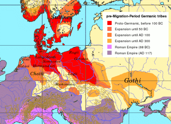 Pre migration age germanic